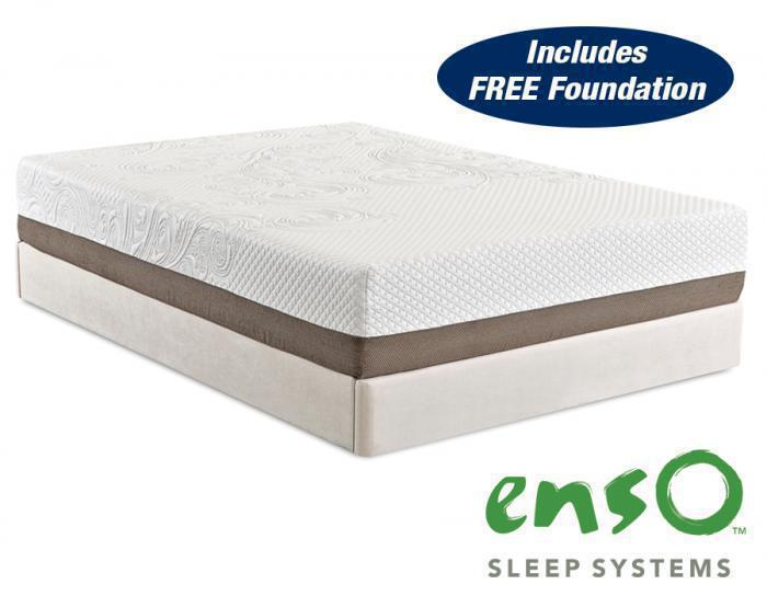 Strata Memory Foam Queen Mattress with FREE Foundation!,In-Store Products
