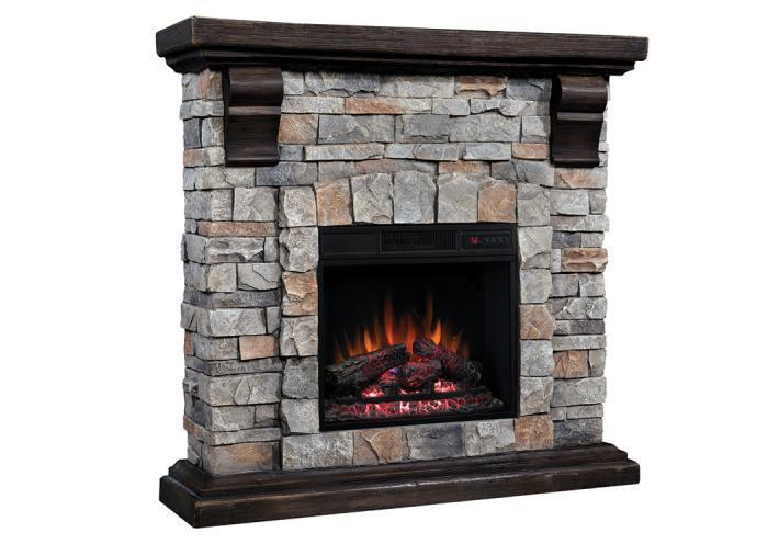 Morrison fireplace - gray,In-Store Products