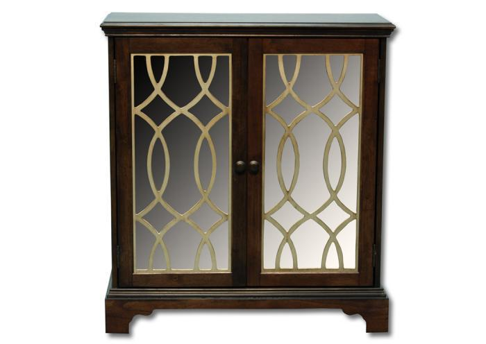 Casa Bella accent cabinet - chestnut,In-Store Products