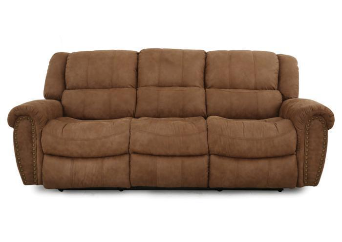 Doyle reclining sofa - tan