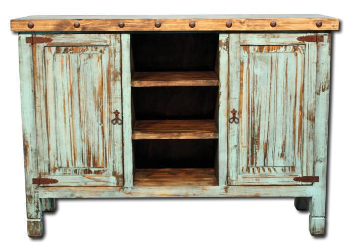 Farmhouse Buffet - Turquoise,In-Store Products