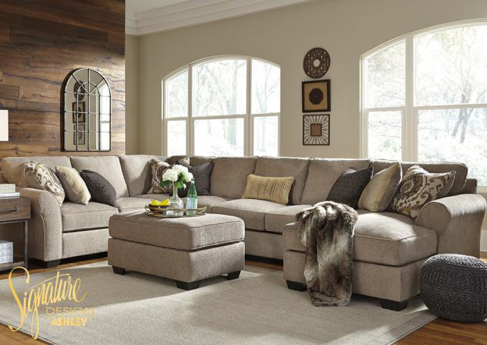 Pantomine right chaise sectional,In-Store Products