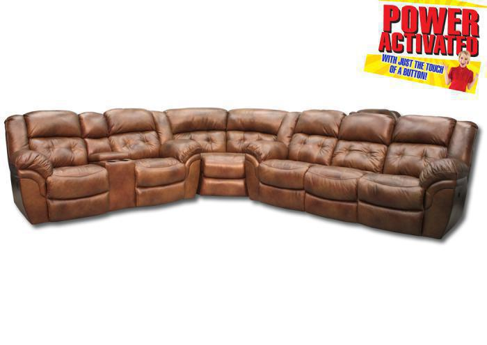 Abilene POWER reclining sectional,In-Store Products