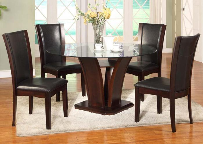 San Sorento 5 Pc Dining Room - Espresso,In-Store Products