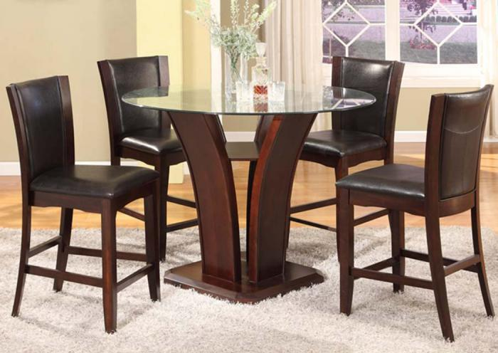 San Sorento 5 Pc Pub Dining Room - Espresso,In-Store Products