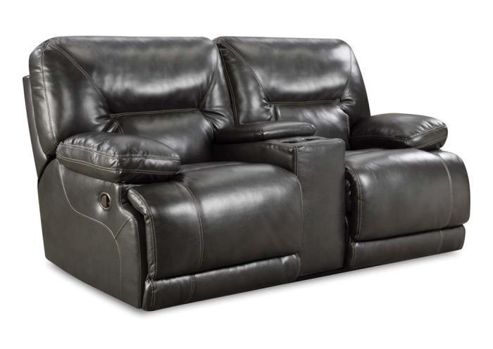 Hilman Reclining Loveseat - Grey,In-Store Products
