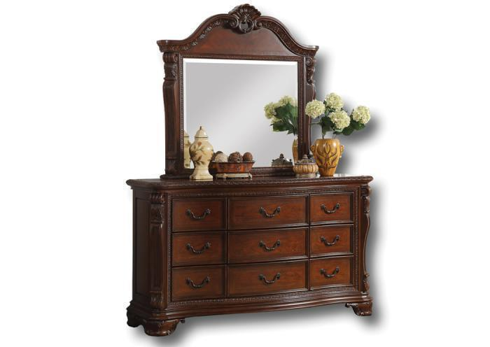 Chateau Orleans dresser/mirror,In-Store Products