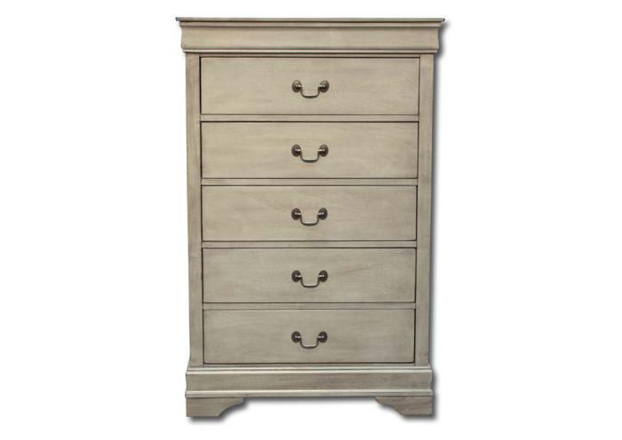 Louis Philippe chest - gray,In-Store Products