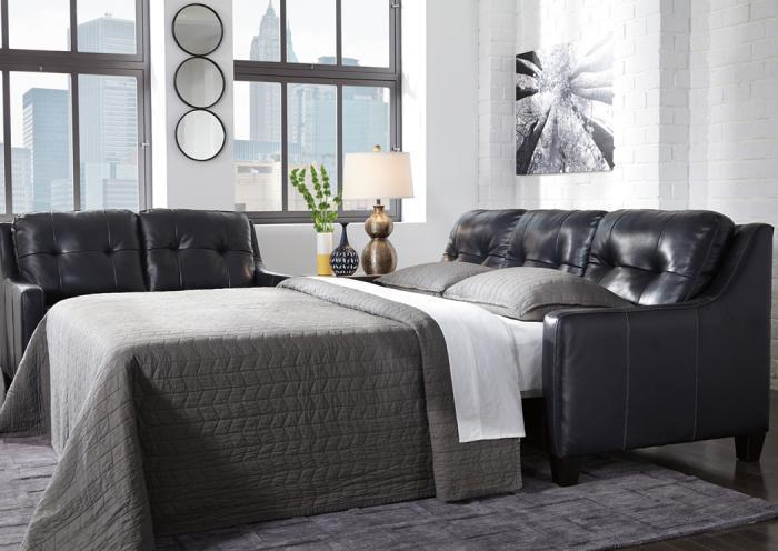 O'Kean sleeper sofa - navy,In-Store Products