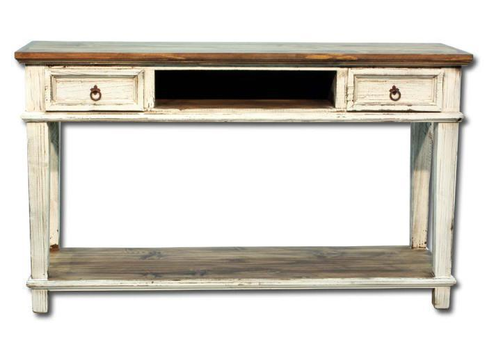Europa Antique Console - white,In-Store Products