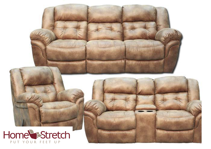 Oxford Reclining Collection - Almond,In-Store Products