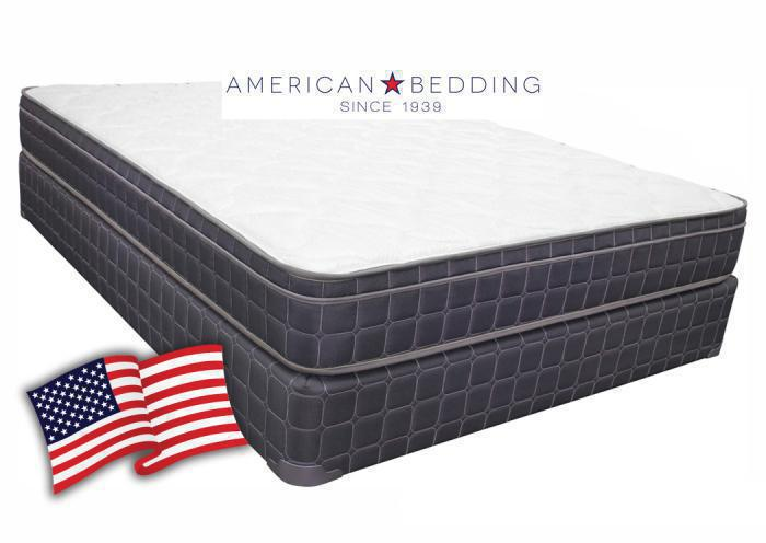 American Bedding Justice Euro Top King Set,American Bedding