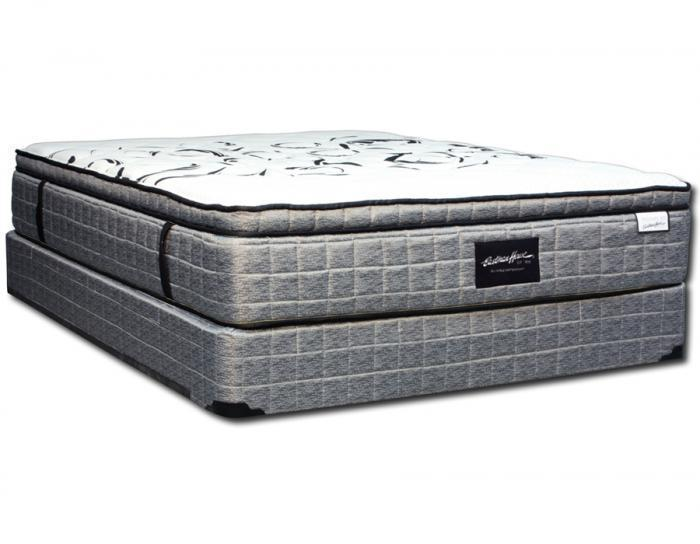 Bradley Hybrid Euro Pillow Top King Set,In-Store Products
