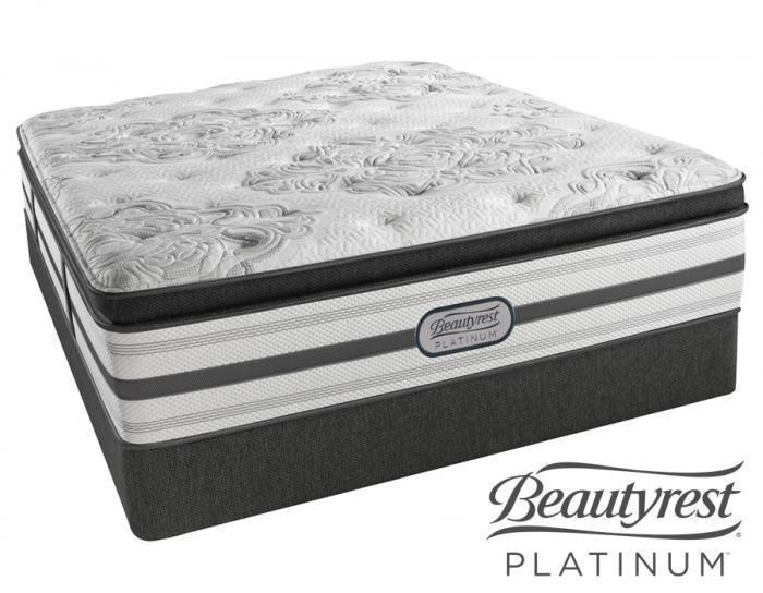 Simmons Beautyrest Columbus Plush Pillow Top Queen Set,Simmons