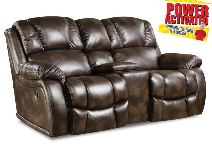 Randolph POWER loveseat - chocolate,In-Store Products