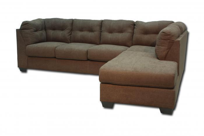Maier Right Chaise-Style Sectional - Walnut,In-Store Products
