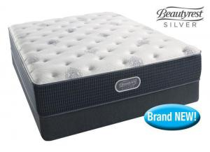 Simmons Beautyrest Silver Orange Beach mattress set! - queen