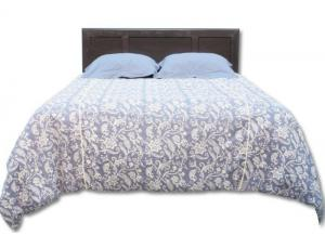 Kismet full-queen headboard - merlot