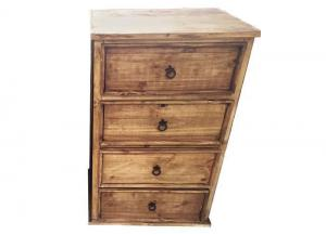 Solid Wood 4-Drawer Chest! Light