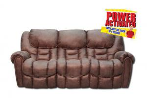 Santa Monica Power Reclining Sofa