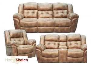 Oxford Reclining Collection - Almond