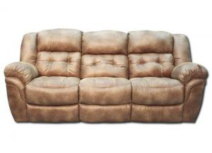 Oxford Reclining Sofa - Almond