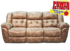 Oxford Power Reclinling Sofa - Almond