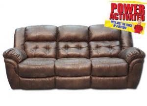 Oxford Power Reclining Sofa - Espresso