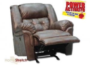 Oxford Power Rocker Recliner - Espresso