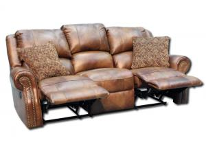 Walworth Reclining Sofa - Light Brown