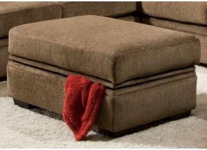 Westside Storage Ottoman - Chocolate