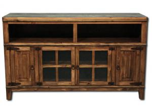 Hacienda TV Console - Brown
