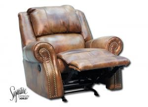 Walworth Rocker Recliner - Light Brown