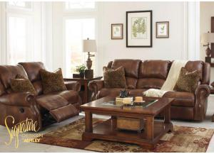 Walworth Reclining Collection - Light Brown