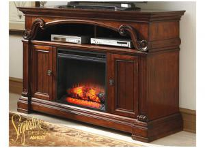 Alymere TV Console With Fireplace