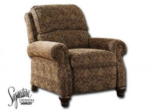 Walworth Low Leg Recliner - Garnet