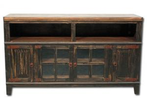 Hacienda TV Console - Black