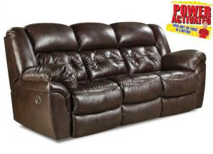 Abilene POWER reclining sofa - espresso
