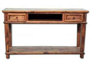 Europa Antique Console - brown