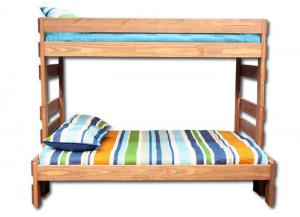 Duncan Twin/ Full Bunk bed - Light