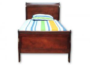 Louis Philip Twin Bed - Cherry