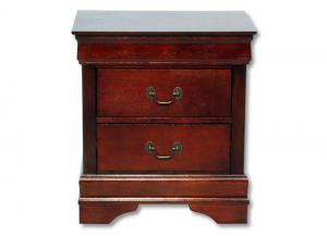 Louis Philip Nightstand - Cherry