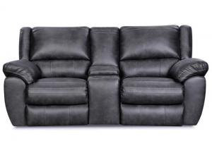 Shiloh reclining loveseat - gray