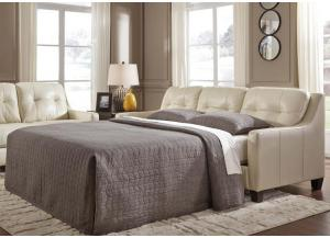 O'Kean sleeper sofa - cream