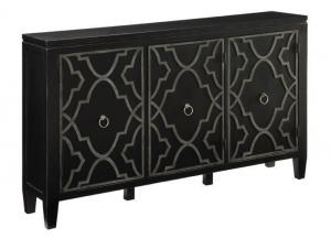 Forrest accent TV console,
