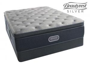 Simmons Beautyrest Silver St. Thomas Plush Summit Pillow Top - twin
