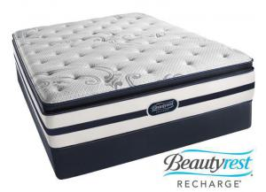 Simmons Beautyrest Rosie Plush Pillow Top Queen Set