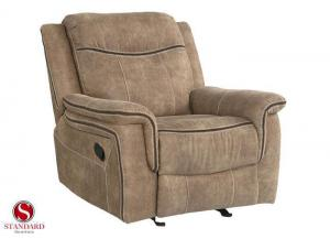 Benton rocker recliner - coffee