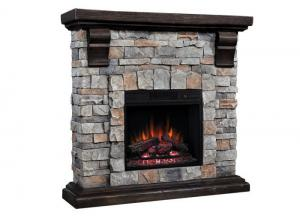 Morrison fireplace - gray