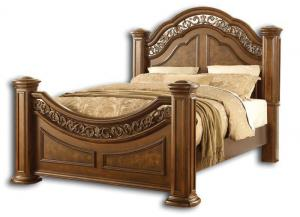 Pantheon queen bed